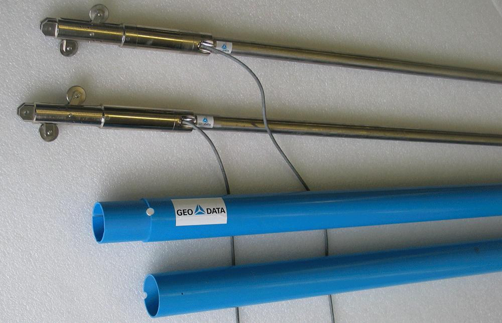 Inklinometerrohre und IPI Sensoren
